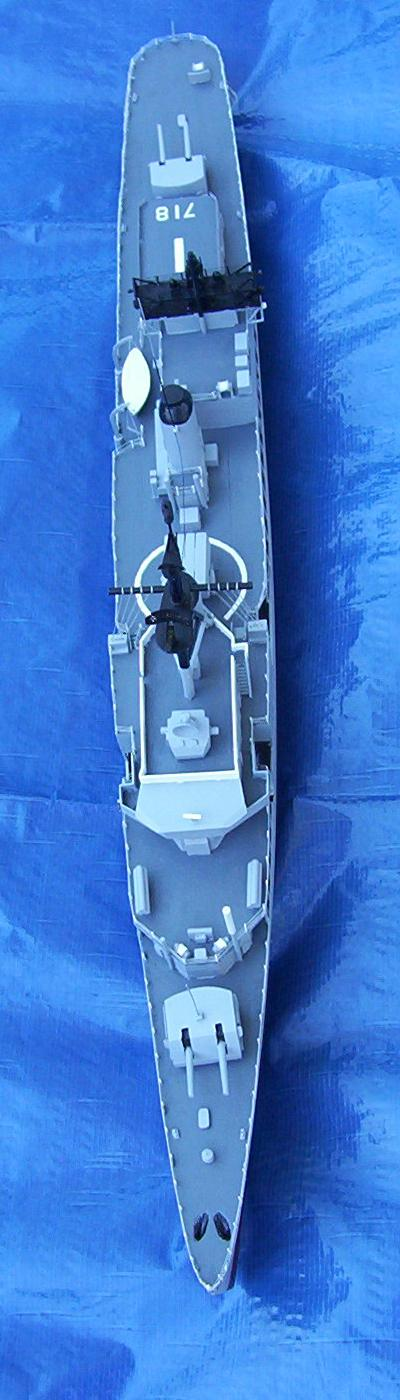 """This model is 29"""" Long, 12"""" High, 3 1/4"""" at Main Deck, and 3 3/16"""" at"""